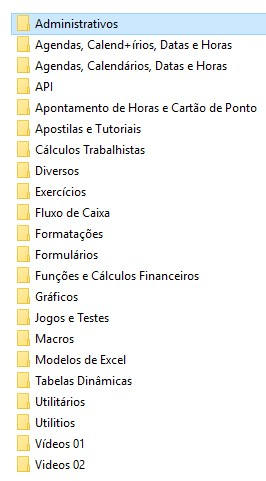 Kit 1.600 Planilhas Excel