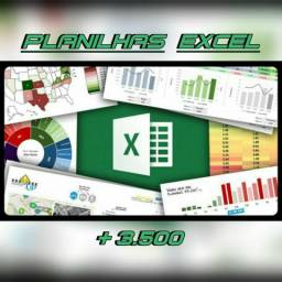 excel planilhas 3500 kit